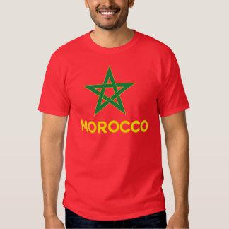 Marokko - Marokkaanse Vlag T Shirt