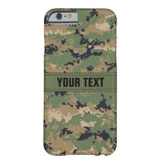 MarPat Digitale Bos Gepersonaliseerde Camo #2 Barely There iPhone 6 Hoesje