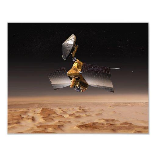 Mars Reconnaissance Orbiter 2 Foto Afdruk