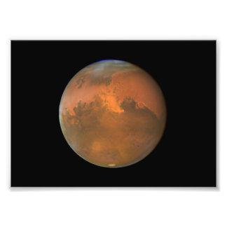 Mars (Telescoop Hubble) Fotografische Afdruk