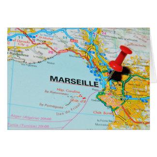 Marseille, Marseille, Frankrijk Kaart