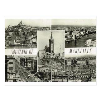 Marseille, vroege multiview briefkaart
