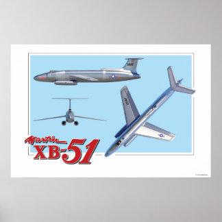 Martin XB-51 Poster