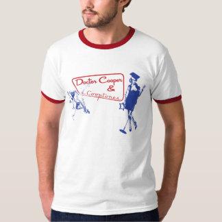 Martini & Muziek - Rood & Blauw T Shirt