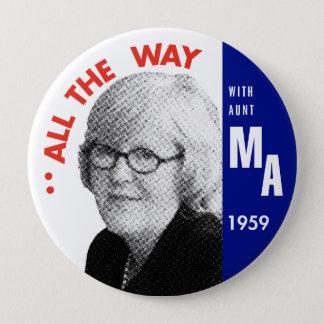 Mary Ann voor de Knoop van het President Ronde Button 4,0 Cm