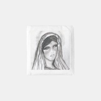 Mary Crying Herbruikbare Tas