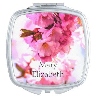 """Mary Elizabeth"" personaliseerde Compacte Spiegel Make-up Spiegeltjes"