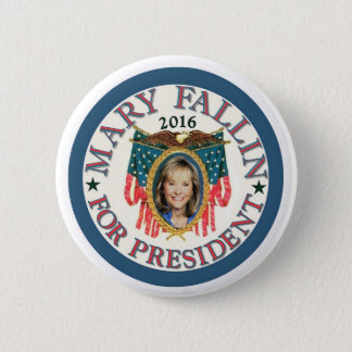 Mary Fallin voor President 2016 Ronde Button 5,7 Cm