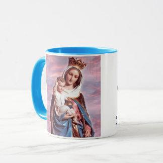 Mary Help van de Kop van het Portret van