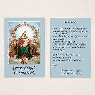 Mary Koningin van de Heilige Kaarten van het Gebed Visitekaartjes