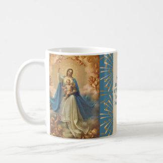 Mary Koningin van Hemel Jesus Angels Koffiemok