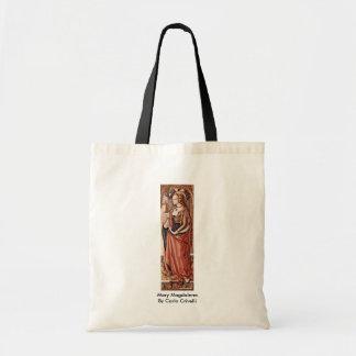 Mary Magdalene. Door Carlo Crivelli Budget Draagtas