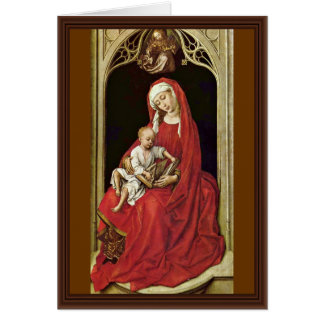 Mary met het Kind van Christus (Madonna Duran) Briefkaarten 0