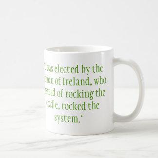 Mary Robinson, Iers President Koffiemok