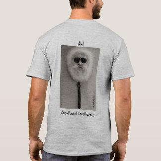 masker gezicht van het arty-gezichtsoverhemd van t shirt
