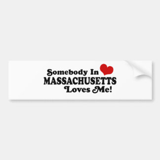 Massachusetts Bumpersticker