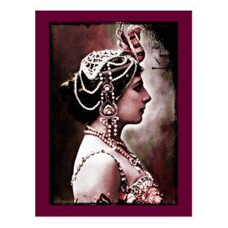 Mata Hari 1910 Briefkaart