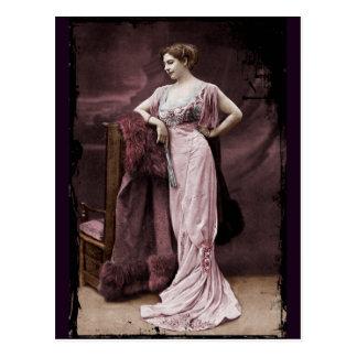 Mata Hari bij het Theater Briefkaart