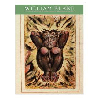 Materiaal van de Kunst van William Blake het First Briefkaart