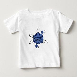 Matrijs-atoom (Blauwe Zwarte,) Baby T Shirts