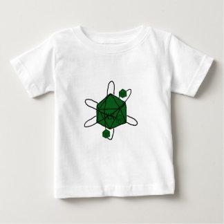 Matrijs-atoom (Groene Zwarte,) Baby T Shirts