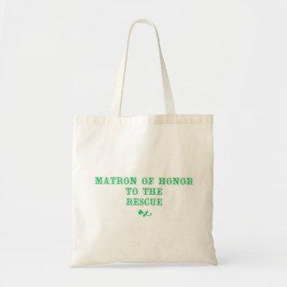 Matron van Groene de Hoed van het Bolsa van de Eer Draagtas