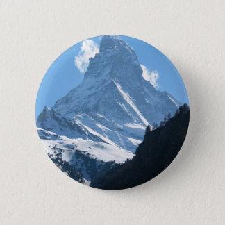 Matterhorn, Zermatt Ronde Button 5,7 Cm