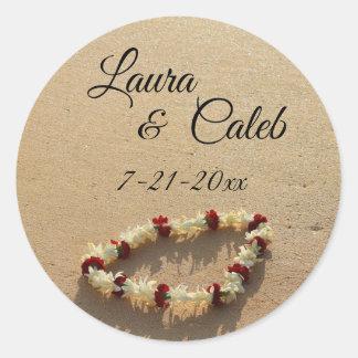 Maui Lei op de Geheime Stickers van het Huwelijk