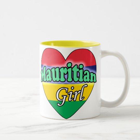 Mauritian Girl Tweekleurige Koffiemok