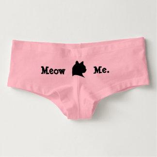 Mauw me het Ondergoed van de Kat