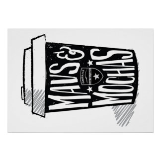 Mavs & poster Mochas