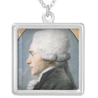 Maximiliaan de Robespierre Zilver Vergulden Ketting
