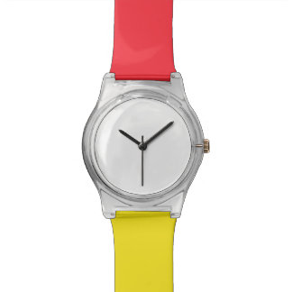 May28th Rood/Geel Horloge