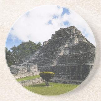 Maya Chacchoben van Costa Mayan Ruïnes Zandsteen Onderzetter