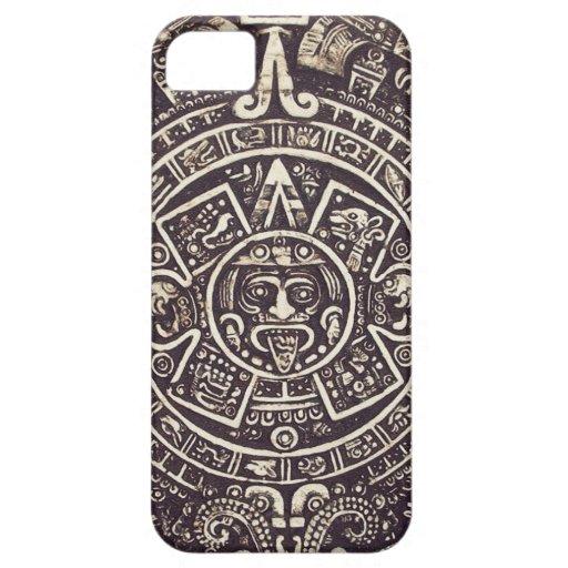 Mayan geval van de Kunst iPhone5 van de Kalender Case-Mate iPhone 5 Hoesje