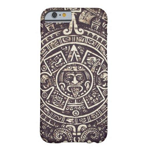 Mayan iPhone 6 van de Kunst van de Kalender geval Barely There iPhone 6 Case