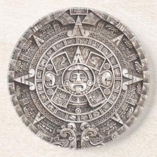 Mayan Kalender Zandsteen Onderzetter