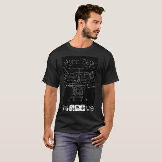 Mayan monoliet-Stervormige T-shirt van de