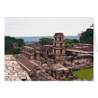 Mayan Paleis, Palenque Briefkaarten 0