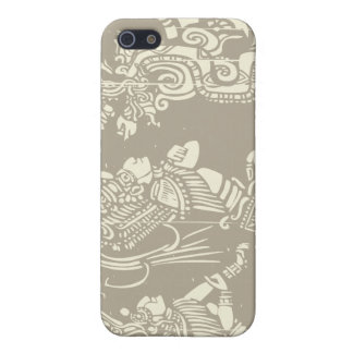 Mayan priesters en Serpent van de Visie iPhone 5 Cover