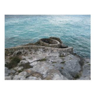 Mayan Ruïnes, Isla Mujeres, Mexico Briefkaart