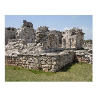 Mayan Ruïnes, Tulum, Mexico Briefkaart