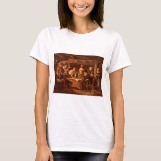 Mayflower Compact door Jean Leon Gerome Ferris T Shirt