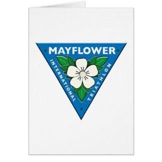 Mayflower Internationale Triathlon Wenskaart