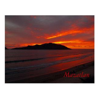 Mazatlan, het Opvlammen van Mexico   ...... Briefkaart