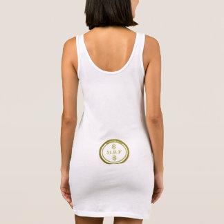 MBF de kleding van Vrouwen T -t-shit Mouwloze Jurk