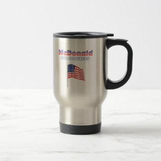 McDonald voor de Patriottische Amerikaanse Vlag Reisbeker