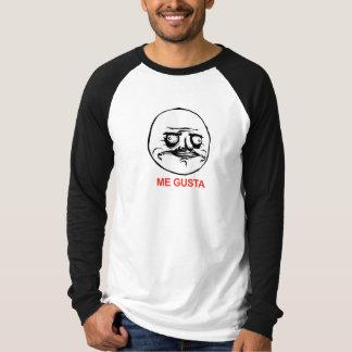 Me Gusta Gezicht Meme T Shirt