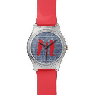 Me het Horloge van Graffiti van de Tijd