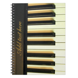 Me & mijn piano_ ringband notitie boek